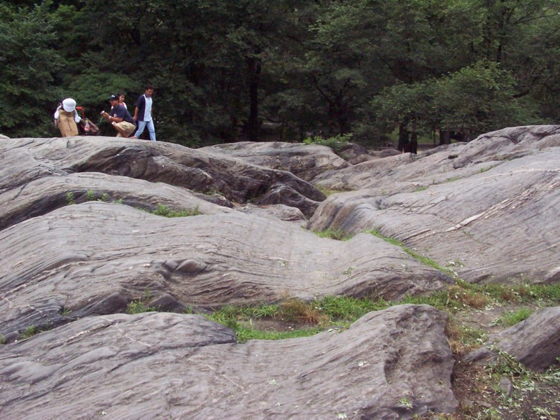 geology of central park